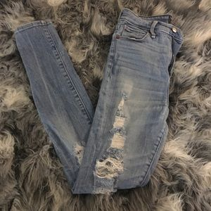 High rise Super Skinny Abercrombie Jeans